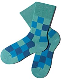 Bunte Socken - Muster: Pixelate - Scuba - GOTS zertifiziert - aus feinster Bio Baumwolle - Komfortbündchen