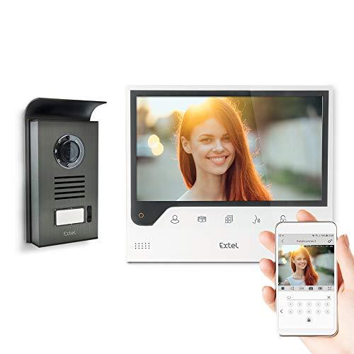 Extel Visiophon Connect mit Display und Verbindung mit Ihrem Smartphone Android oder Apple