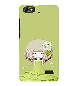 Ebby Printed back cover for Huawei Honor 4c(Premium Designer case)