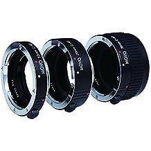 Movo Photo AF kit de tubos de extensión macro para la cámara Canon EOS DSLR con tubos de 12mm, 20mm y 36mm (montura de metal)