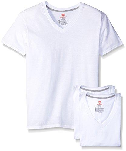 Hanes Herren Unterhemd Weiß