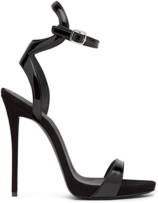 b30f6bafbeea GAIHU The sexy women women women ladies High Heel Sandals Strappy peep toe  stiletto shoes Party