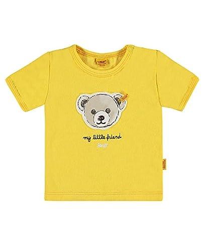 Steiff Baby-Jungen T-Shirt 1/4 Arm, Gelb (solar Power 4019), Gr. 74