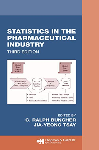 Statistics In the Pharmaceutical Industry (Chapman & Hall/CRC Biostatistics Series) (English Edition)