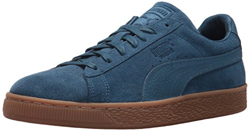 Puma Suede Classic Natural Warmth, Sneakers Basses Mixte Adulte Sailor Blue-sailor Blue