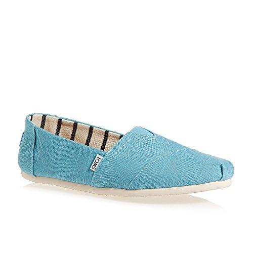 TOMS Alpargata Slip on Shoes 44 EU Marine Blue (Marine Toms Schuhe)