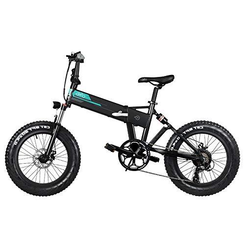 Kirin FIIDO M1 - Bicicleta eléctrica Plegable de Aluminio de 20 Pulgadas para Adultos, 3 Modos, Motor...
