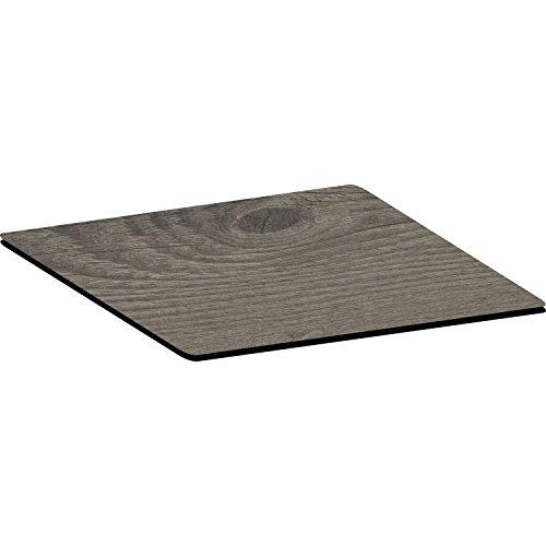 Topalit Tischplatte Smart Line 70x70 cm | Dekor: Timber | Holz-Optik | 1 Stück