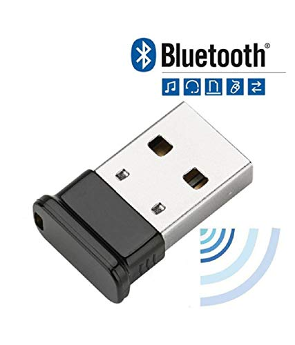 FEDUS Bluetooth Adapter, 4.0 Bluetooth Dongle for PC, Laptop Desktop Computer for Windows 10, 8.1, 8, 7, Vista, XP, Linux and Raspberry PI