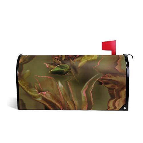 Suminla-Home Briefkastenabdeckung, magnetisch, Standardgröße, Acalypha, 1 Wraps Briefkastenabdeckung, 53 cm x 46 cm
