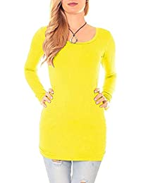 9dc9a37e6a3538 Suchergebnis auf Amazon.de für: damen longshirt gelb - Damen: Bekleidung