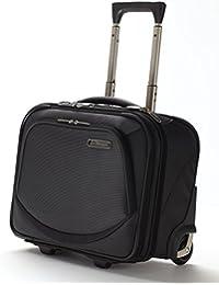 Kappa® Business Carrito Bolsa de equipaje portátil – Rodillo de mano maletín de viaje CABINA Maleta con ruedas negro/gris