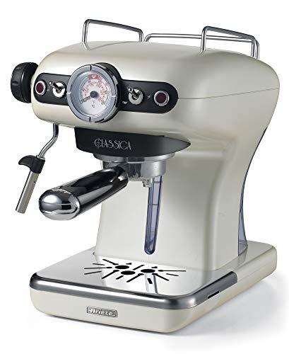 Ariete 1389/17 Classica Siebträger-Espressomaschine, 850, Kunststoff, 2 liters, Perlmutt