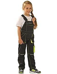 Planam Basalt Junior Latzhose, verschiedene Farben, Arbeitsbekleidug für Kinder, Spielhose