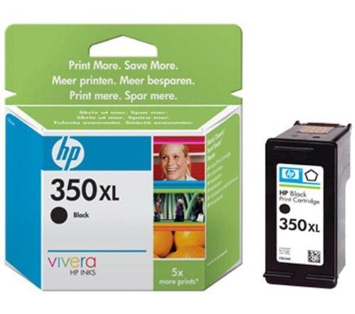 HP Tintenpatrone HP 350X L Druckpatrone Schwarz mit Vivera Tinte 350Inkjet Print Cartridges, von 20bis 80% HR-HR, von 15bis 35°C, 5-95%, 15bis 30°C, 0.085kg (0.187Pfund), 116x 36x 115mm 0.187