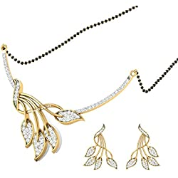 Jewels Galaxy Elegant Precious AAA American Diamond Mangalsutra…