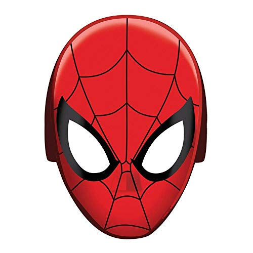 (Amscan Spider-Man Papier Maske)
