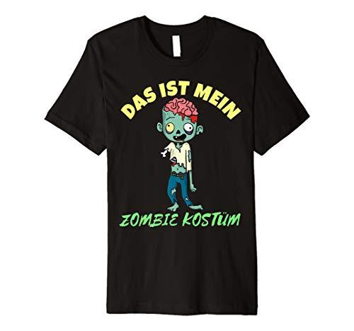 Das ist Mein Zombie Kostüm Karneval T-Shirt - Herren Kinder