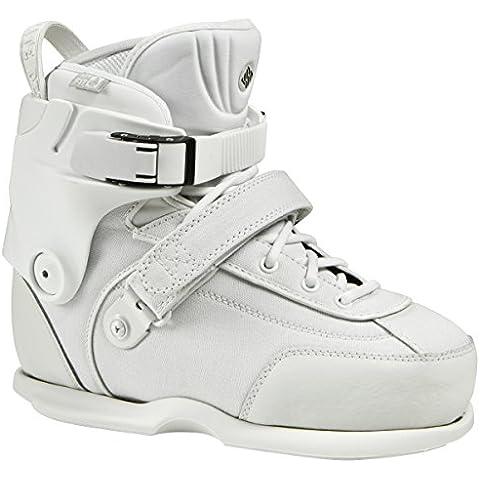 USD Aggressive Boot USD Carbon Free Plus DIY Boot - Patines en línea, color blanco, talla 43