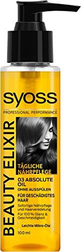 SYOSS Beauty Elixir Absolute Oil, 3er Pack (3 x 100 ml)