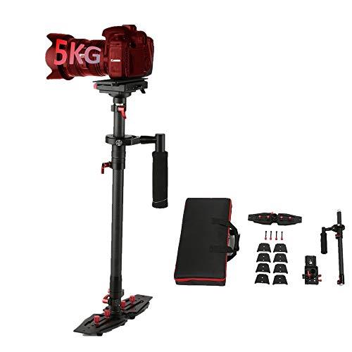 Handstabilisator Dazzne Kohlefaser 30.6 Zoll / 77.8 Zentimeter Handkamera Stabilisator Carbon Fiber mit 1/4 3/8 Zoll Schraube Schnelle Schuhplatte für DSLR-Kameras bis zu 8 Kilogramm