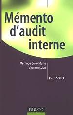 Mémento d'audit interne de Pierre Schick