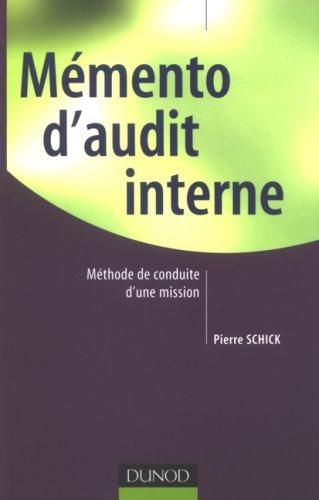 Mémento d'audit interne