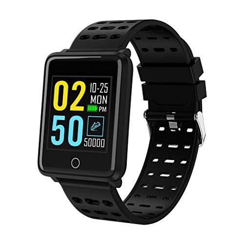 OPALLEY Multifunktions-Smartwatch PulsmesserSchrittzählung, Kalorienverbrauchsanzeige Armband Armband für iOS Android Informationen Erinnerungsalarm und Fotos Sportuhren -