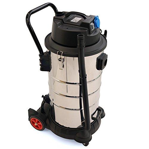 Der BAUTEC Industriesauger 60 Liter / 1400 W | Nasssauger Trockensauger