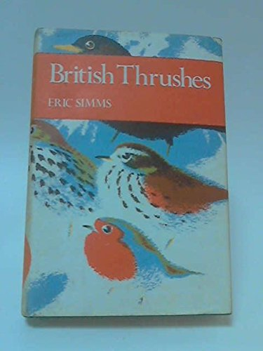 British Thrushes (Collins New Naturalist)