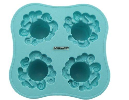 BONAMART ® Eiswürfelform Oktopus Krake Silikon Eiswürfel Eiswürfelformen Ice Cube Trays Mold Eisform