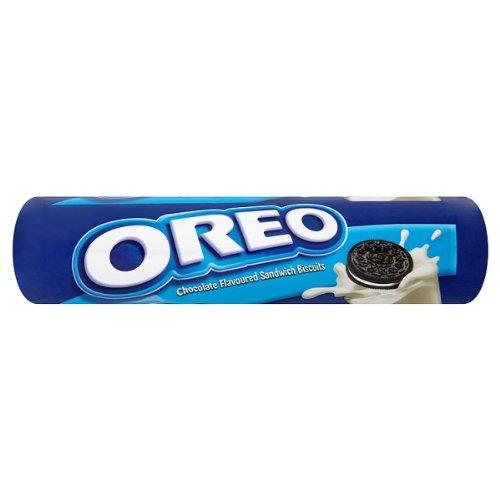 Oreo aromatisées au chocolat biscuits sandwich 154g