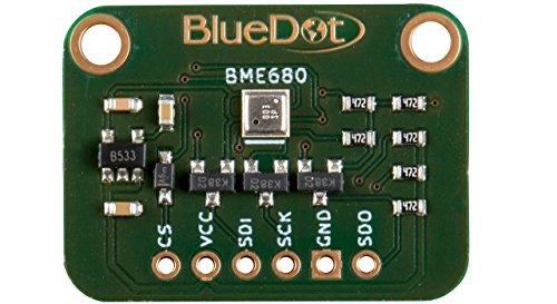 BlueDot BME680 Sensor für Arduino: Temperatur, Feuchte, Luftdruck und Gas -