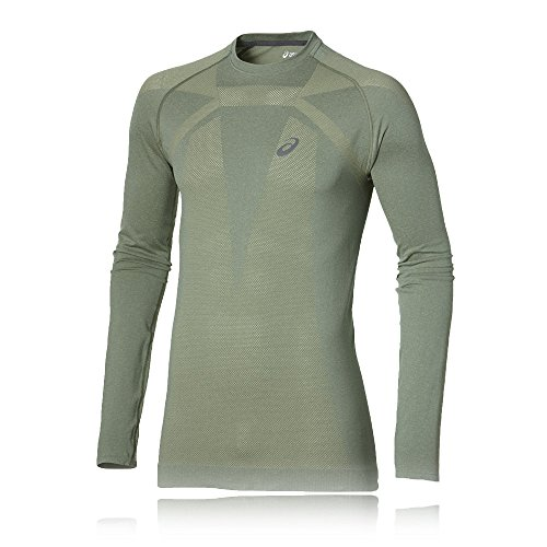 Asics Seamless Top Da Corsa Green