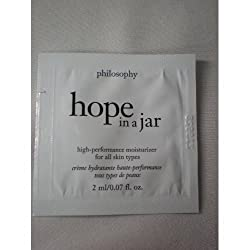 Hope in a Jar Therapeutic Moisturizer for All Skin Types 3 Ml Sample Foil