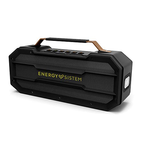 Energy sistem Outdoor Box Street - Altavoces (50 w, Bluetooth, mp3 USB & microsd, FM Radio, Power Bank, Shockproof).