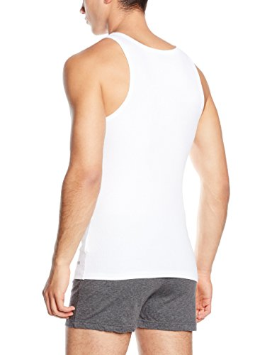 BOSS Hugo Boss - Tank Top Excite, T-Shirt Uomo Bianco (White 100)