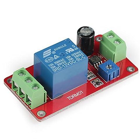 GEREE 1 canal DC 12V NE555 Module de relais Module