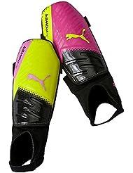 PUMA espinilleras Evopower 3.3, Colour rosa leppävaara/safety Yellow/Black/trucos, S, 030607 10
