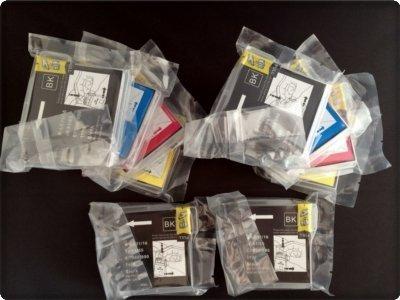 Preisvergleich Produktbild 10x Kompatible Drucker Tintenpatronen für Brother DCP-195C - 2x Cyan / 2x Gelb / 2x Magenta / 4x Schwarz