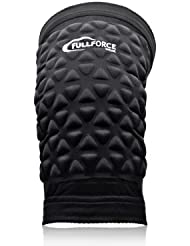 Full Force Genouillères rugby 6440(Paire), noir