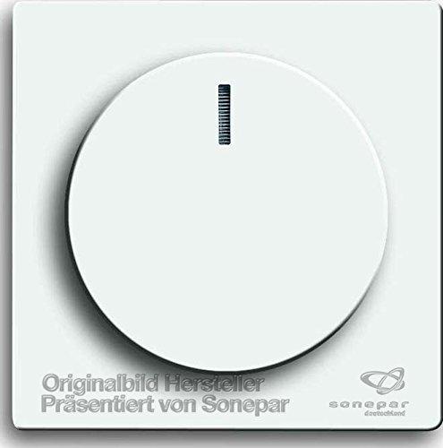Busch-Jaeger Bedienelement für Drehdimmer, 102, 6540-84-102 (Abluft-jalousie)