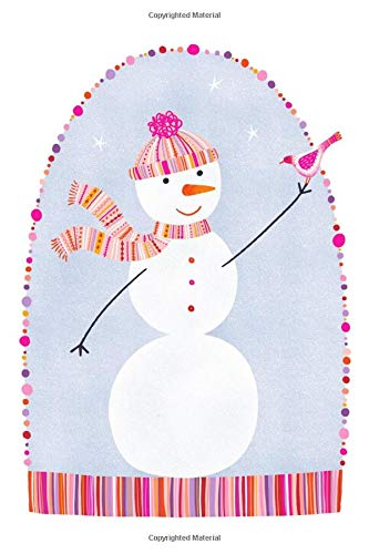 Notes: A Blank Sheet Music Notebook with Cute Snowman in Hat and Scarf Cover Art