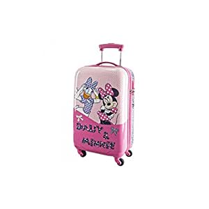 reisekoffer trolley hartschale disney daisy minnie abs 4. Black Bedroom Furniture Sets. Home Design Ideas