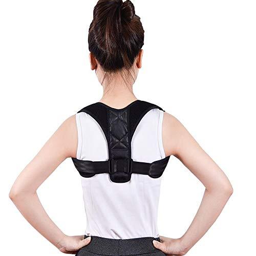 Sxuefang Corrector de Postura Ajustable a Alineador de ClavíCula de la Columna de Espalda CinturóN de Soporte Lumbar Postura CorreccióN para Evitar TensióN Protectores de Espalda