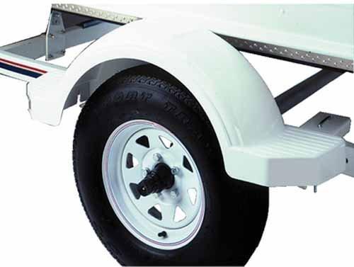 LandNSea Fulton 50857333cm weiß Fender mit Schritt