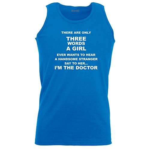 Brand88 - I'm The Doctor, Unisex Athletic Weste Koenigsblau