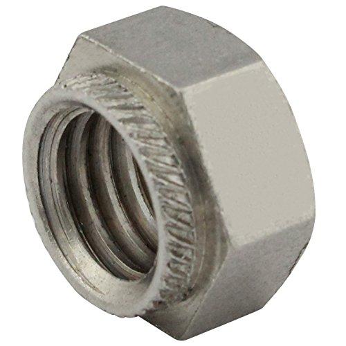 Sechskant-Einpressmuttern / Setzmuttern - M8 - ( 25 Stück ) - aus rostfreiem Edelstahl A2 (V2A) - Schlagmutter - Niro - SC9120 | SC-Normteile®