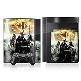 Sony Playstation 3 3 Design Skin Folie Aufkleber zweiseitig - Herr der Ringe - Motiv 8