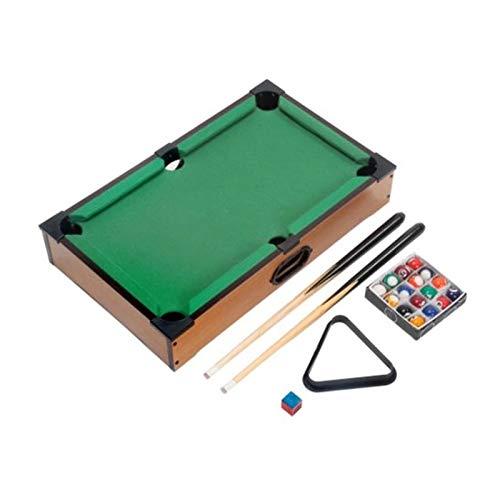 enjtsgyt Mini-Tisch Billardtisch Billard Set Training Geschenk für Kinder Spaß Unterhaltung